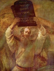 Rembrandt - The Ten Commandments