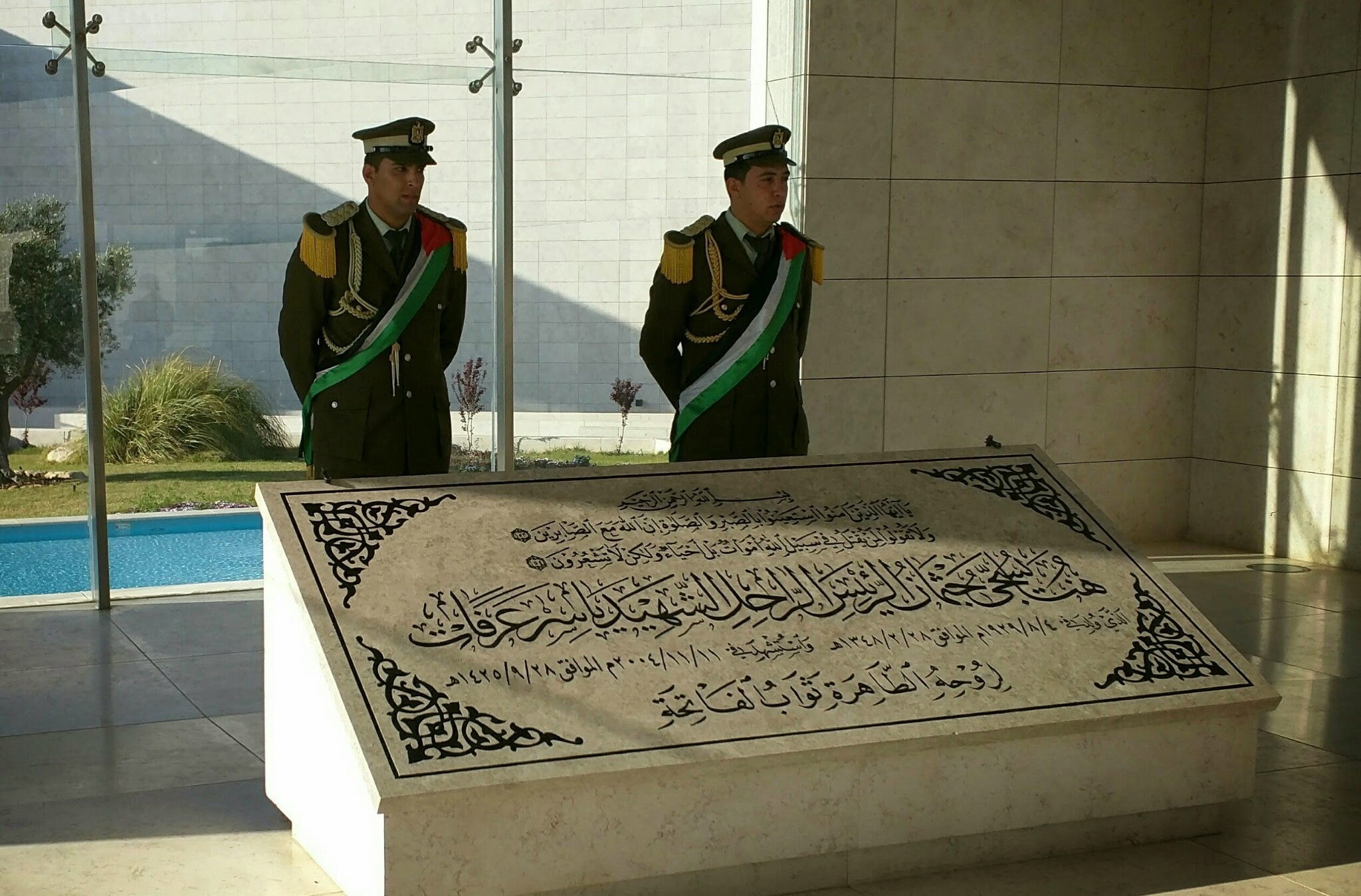 Yasser Arafat Mausoleum
