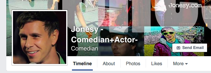 Jonesy on Facebook