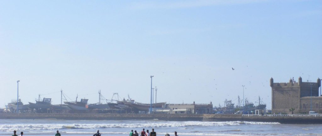 The Essaouira Port