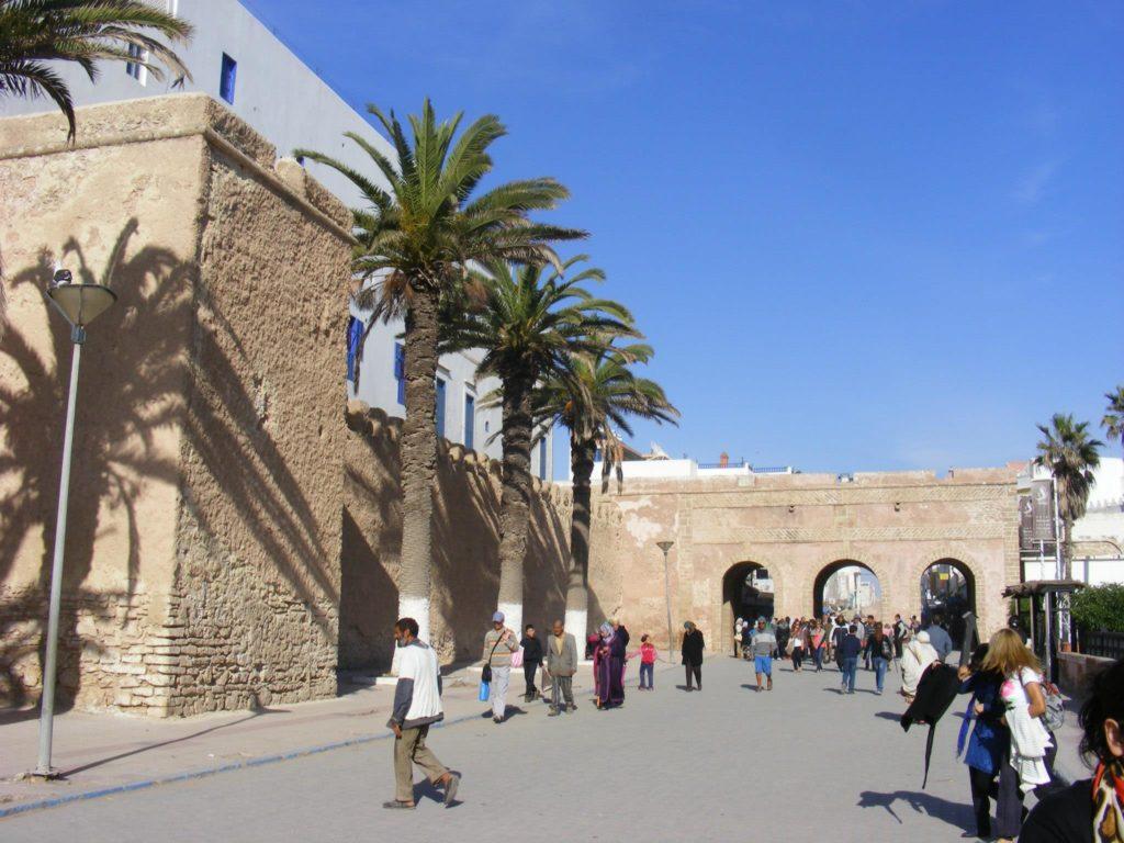 The Essaouira Medina.