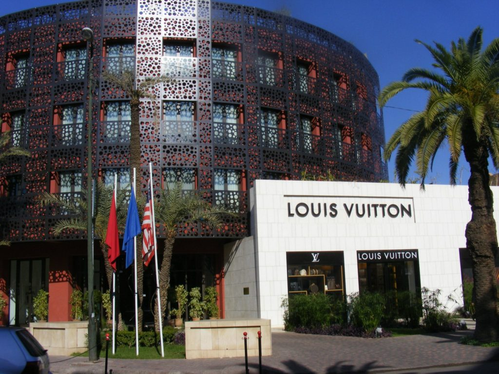 Louis Vuitton Store Marrakech