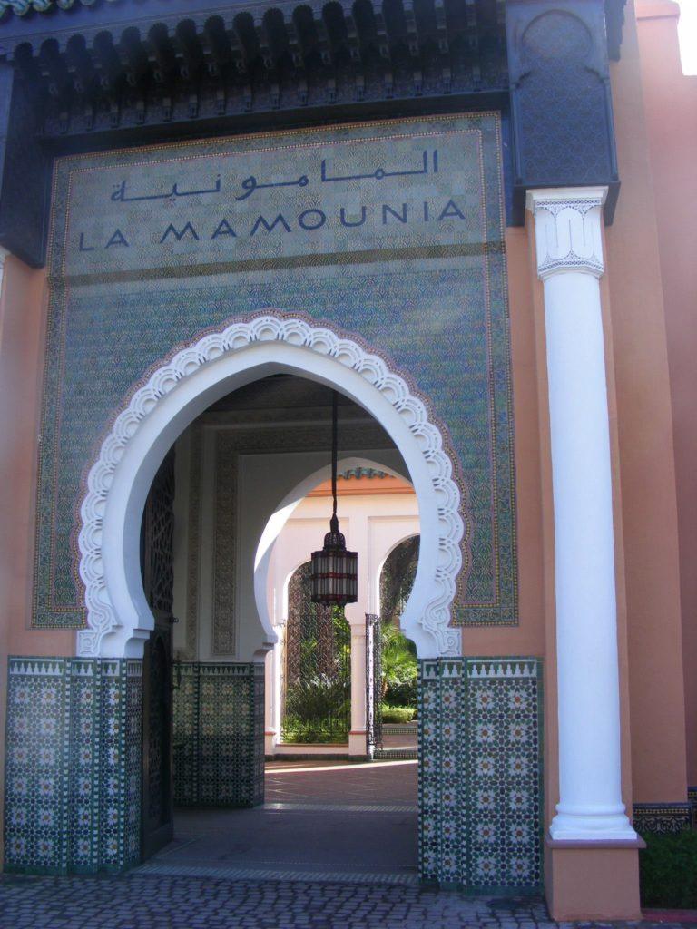 Mamounia Palace