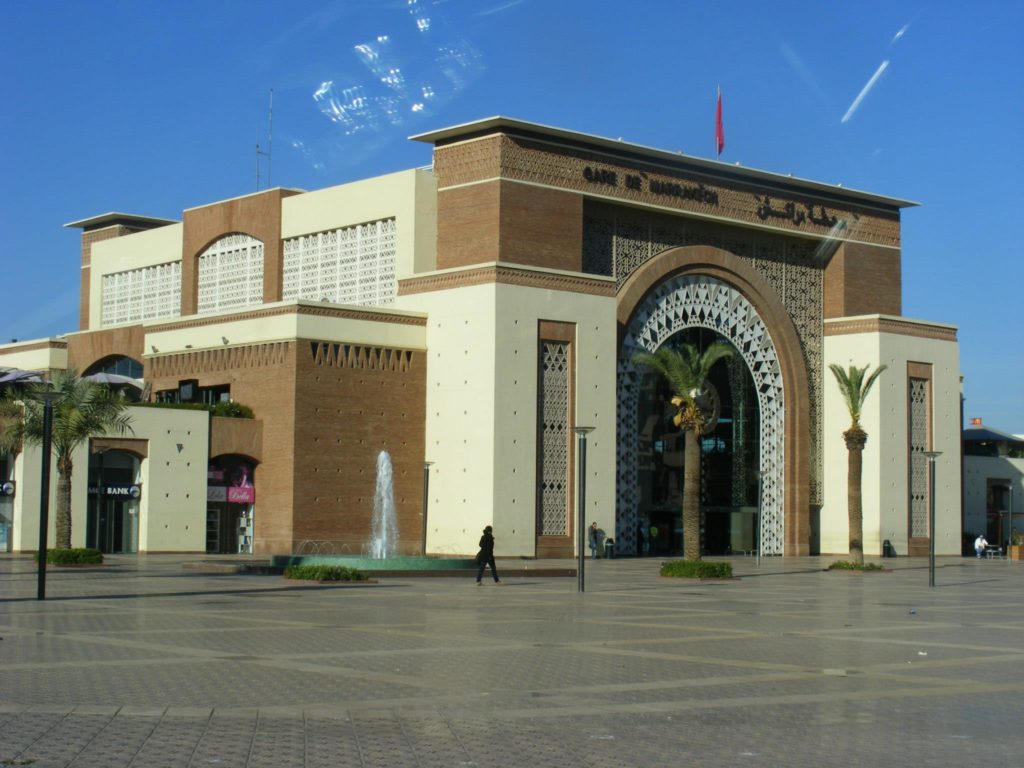 Marrakech Central Train Station