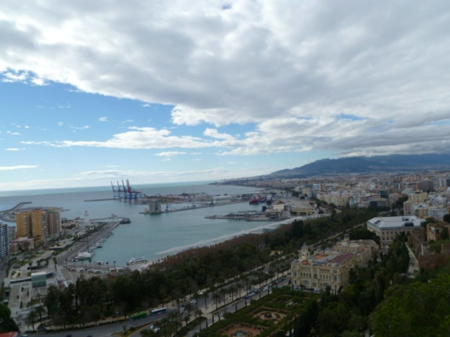 View from the Alcazaba