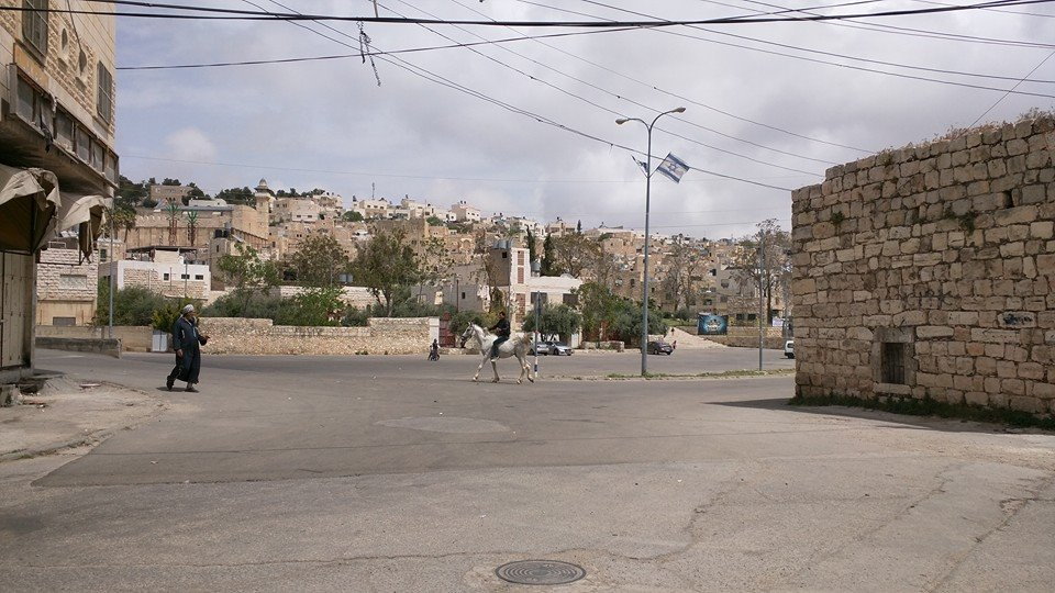 Occupied Hebron.
