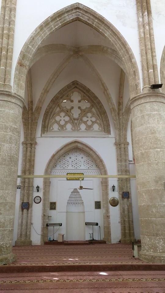 Mihrab of Lala Mustafa Pasha Masjid in Famagusta.