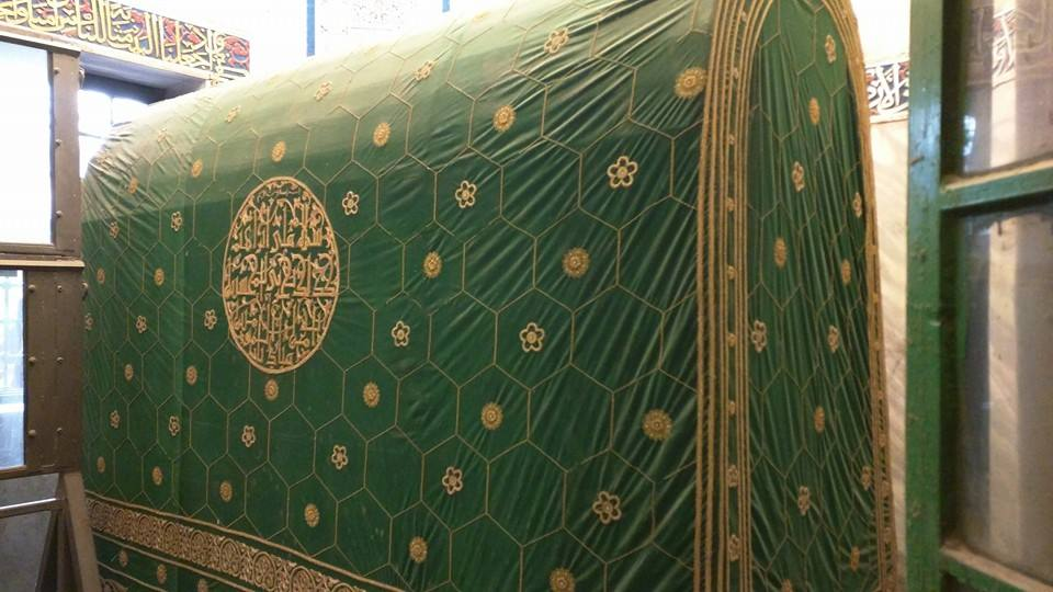The grave of Prophet Ibrahim.