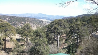 Troodos Mountains.