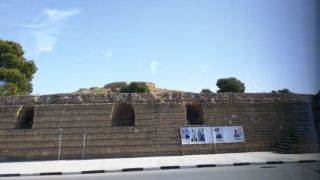 "The ""Venetian Walls"" of Famagusta, which still weren't strong enough to stop the Ottoman invasion."
