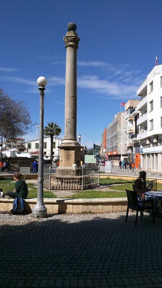 The Venetian Column, Nicosia.