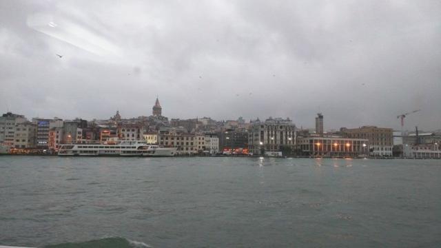Ferry ride on the Bosphorus