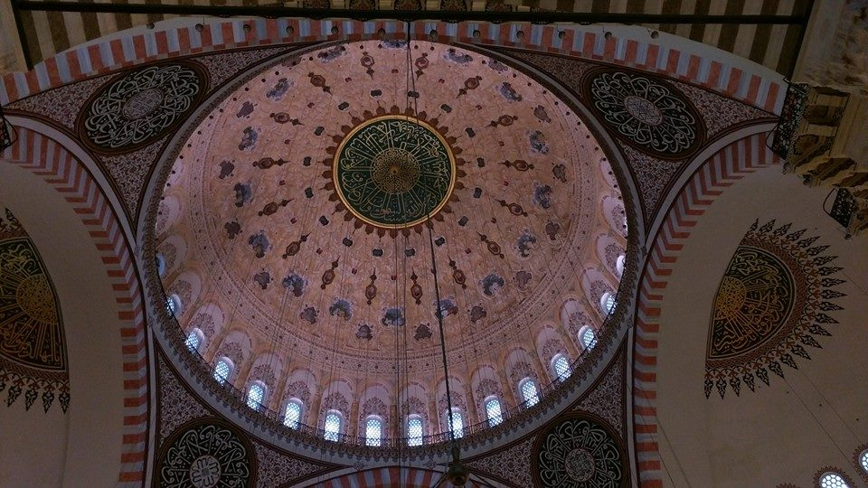 Dome of the Sulemaniye Masjid