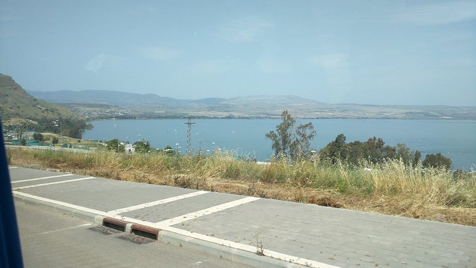 Sea of Galilee.