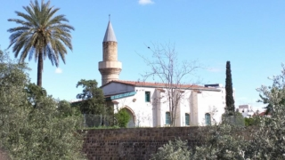 Disused Masjid on the Greek side of Nicosia.