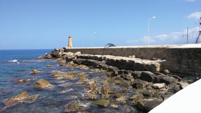 Kyrenia town harbour.