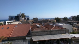 View of town from Limassol Castle.