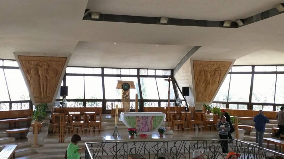 Inside the Church of Saint Peter.