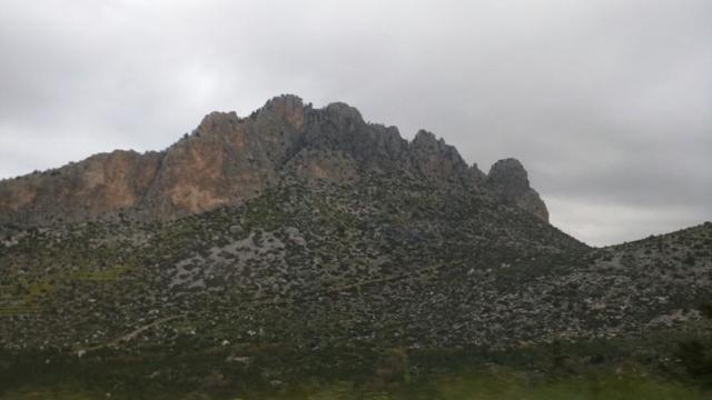 """""""Five Finger Peak"""", Kyrenia mountains."""