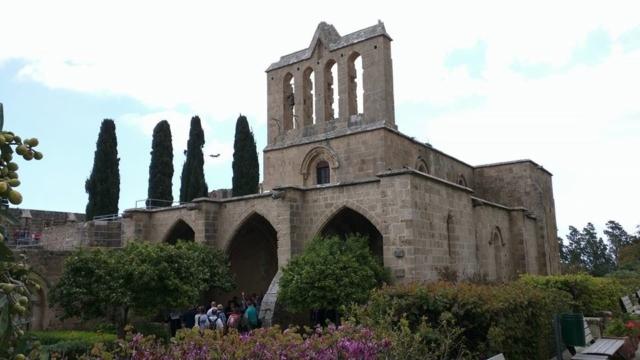 The beautiful Bellapais Abbey.