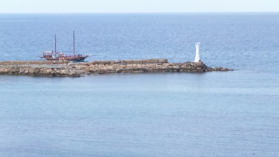 Kyrenia lighthouse.