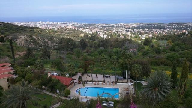 View of Kyrenia from Bellapais village.