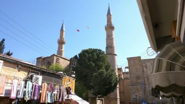 Selimiye Masjid (formerly St. Sophia Cathedral).