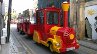 The Nicosia Tourist Train!! :)
