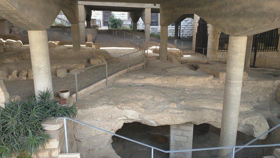 The original village of Nazareth