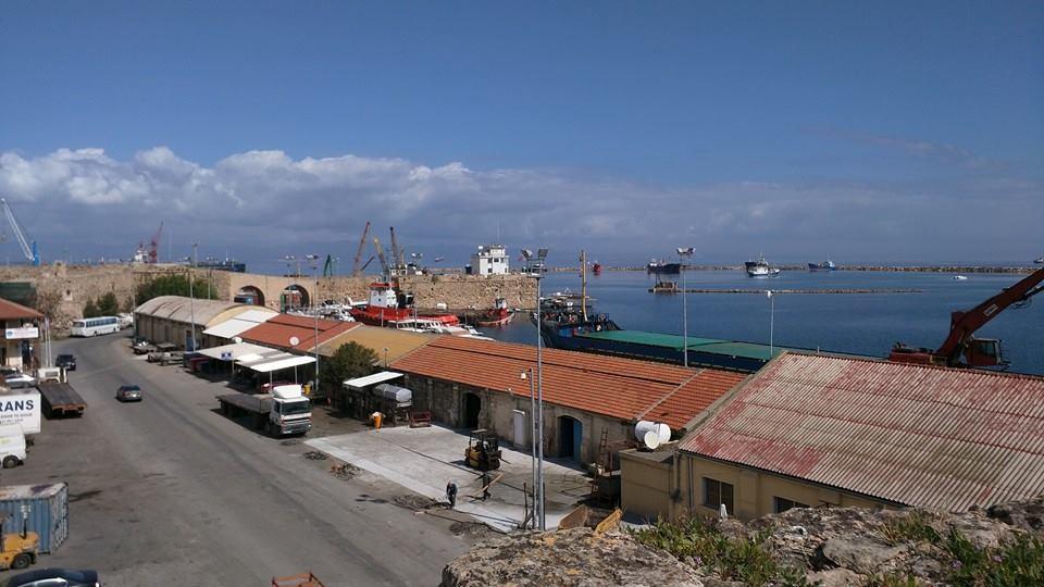 Famagusta harbour.