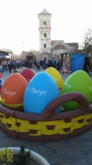 Easter time at Church of Saint Lazarus, Larnaca.