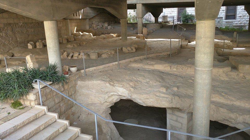 The original village of Nazareth,