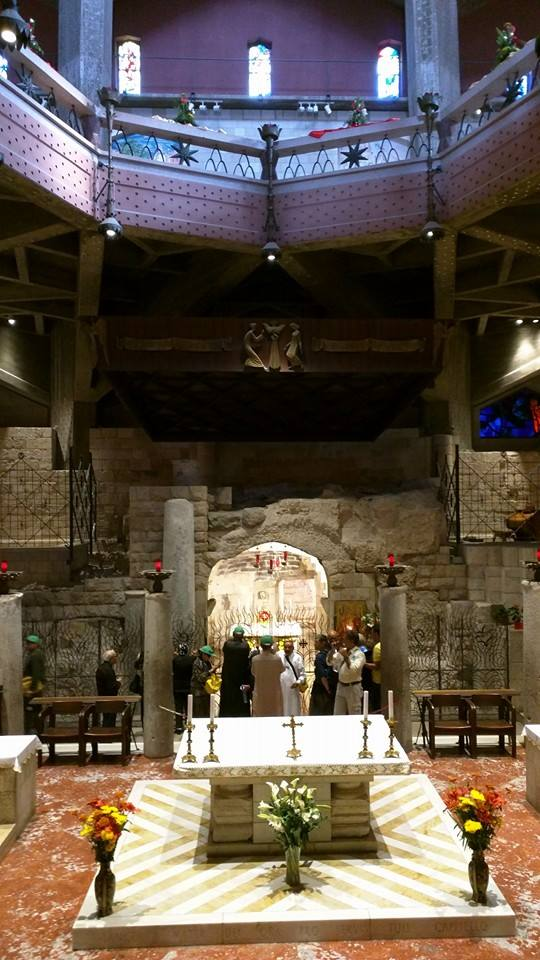 Basilica of the Annunciation.