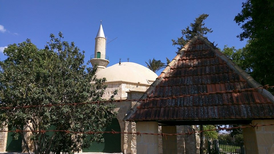 Hala Sultan Tekkes, in Larnaca, also known as Umm Haram Masjid, which is supposedly the burial place of the Prophet's wet nurse.