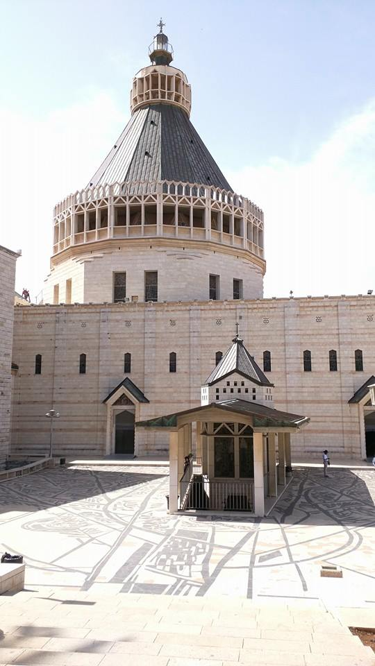 Courtyard of the Basilica of the Annunciation