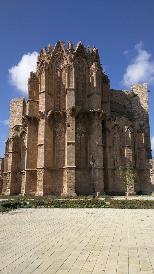 Former Cathedral of Saint George, which was turned into a Masjid and renamed Lala Mustafa Pasha Camii by the Ottomans.