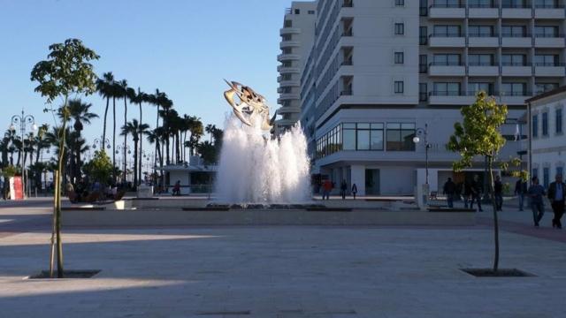 Finikoudes boulevard, Larnaca.