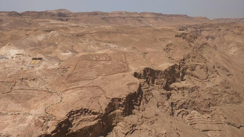 Roman encampment, Masada