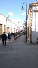 """No Mans Land"" section of Ledra Street, Nicosia, which separates Northern and Southern Cyprus."