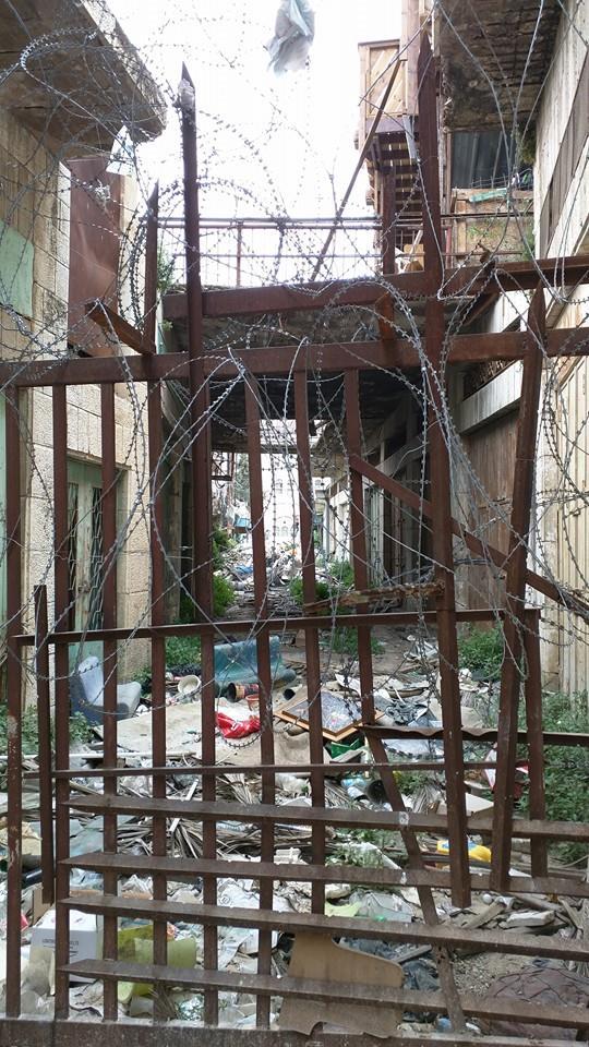 Occupied Hebron