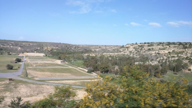 Larnaca countryside.
