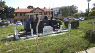 The original train service of Cyprus was established by the British, and this is all that survives. It is tiny!!