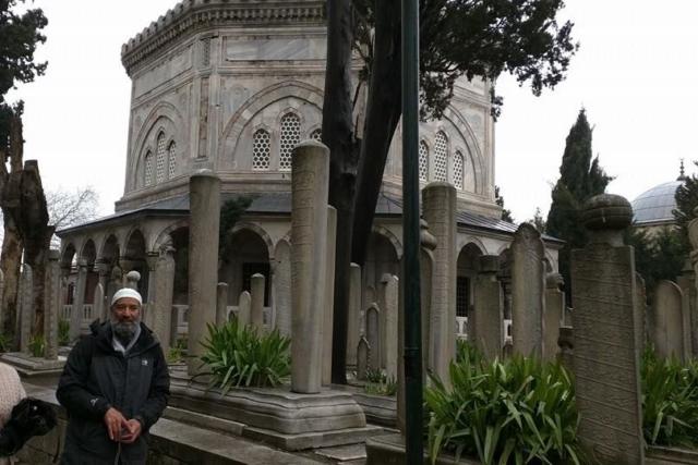 Graveyard of the Sulemaniye Masjid
