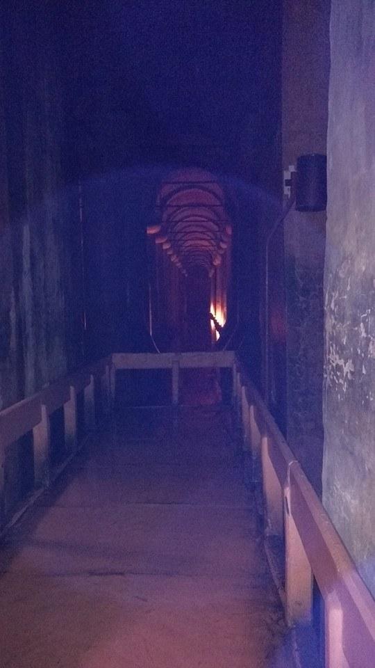 Inside Basilica Cistern