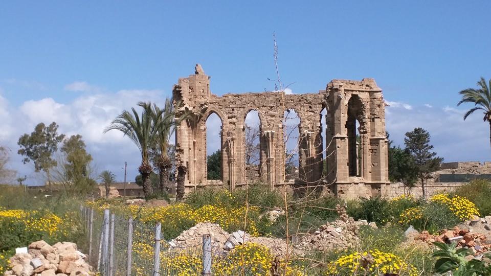 Venetian ruins in Famagusta.