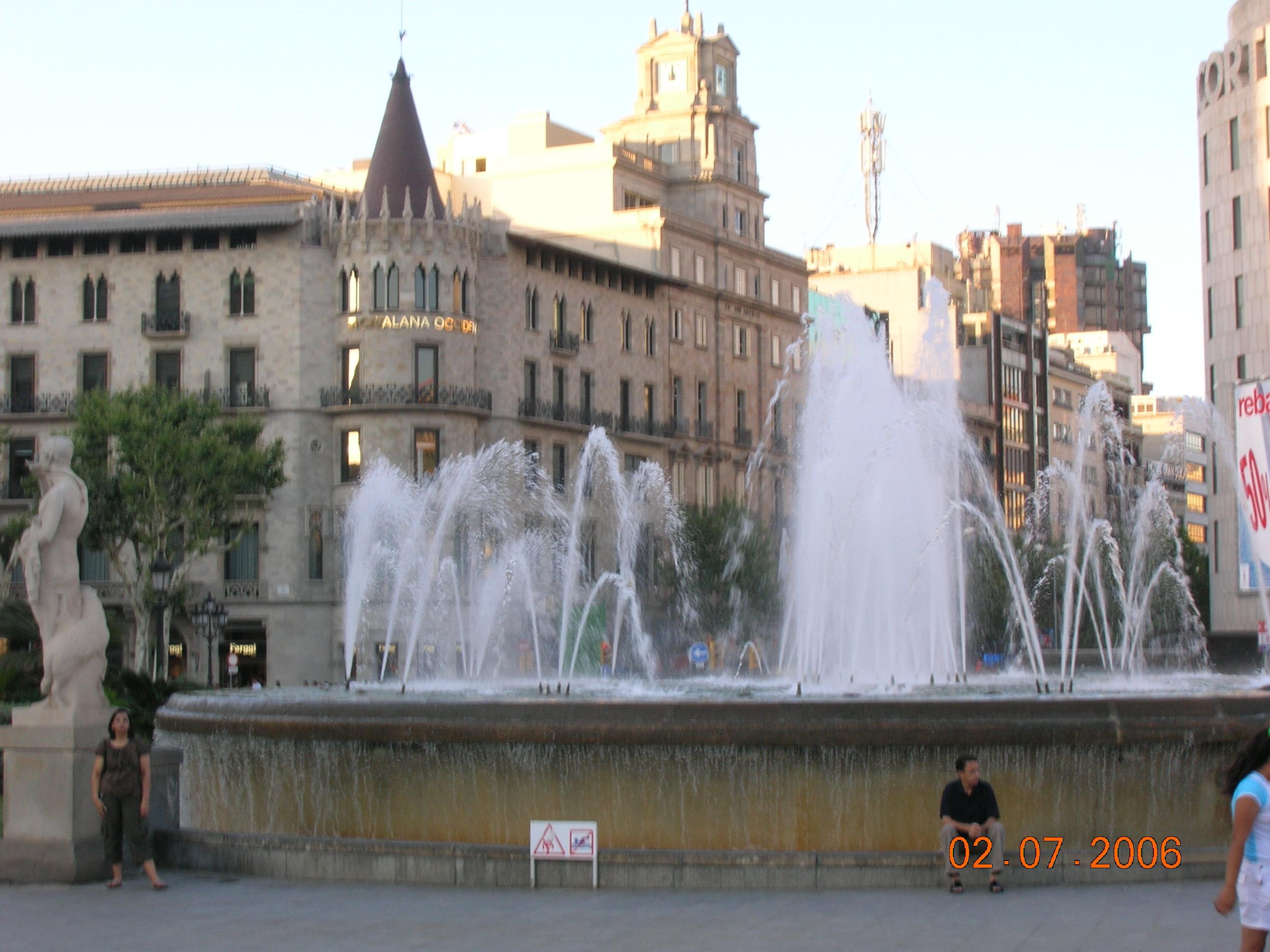 La Plaça Catalunya