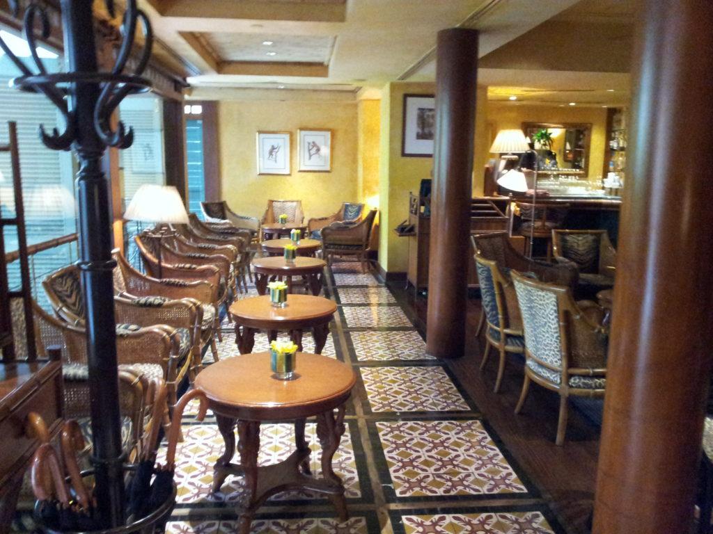 The Bamboo Bar, Mandarin Oriental.