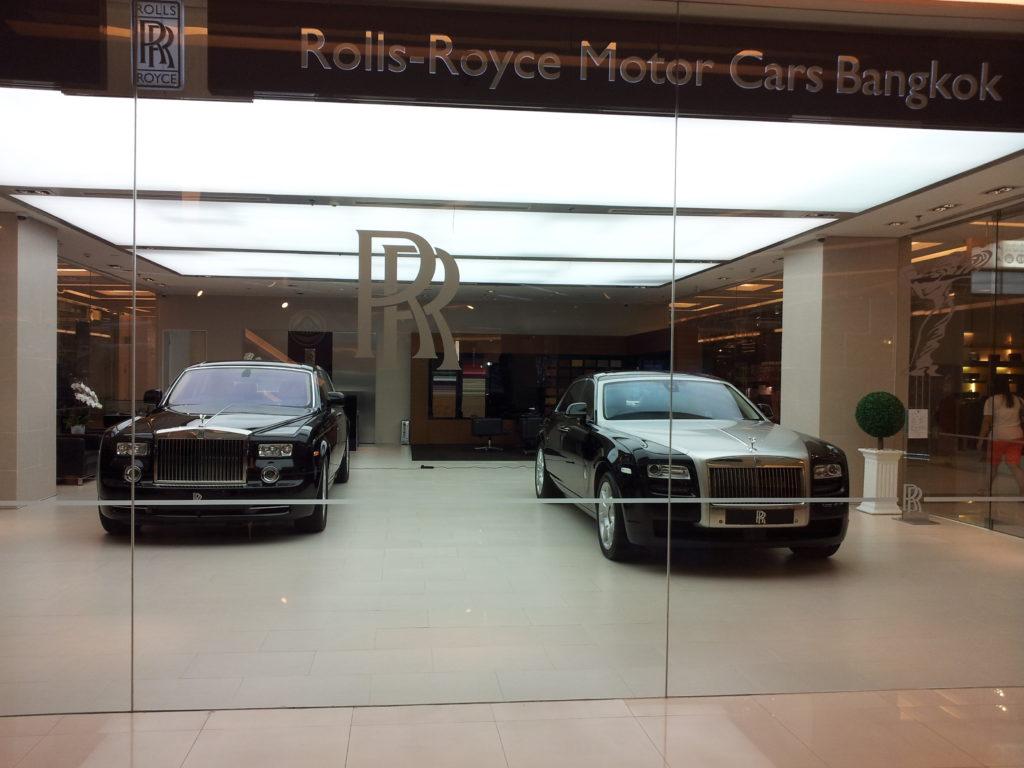 Rolls Royce dealership - Siam Square