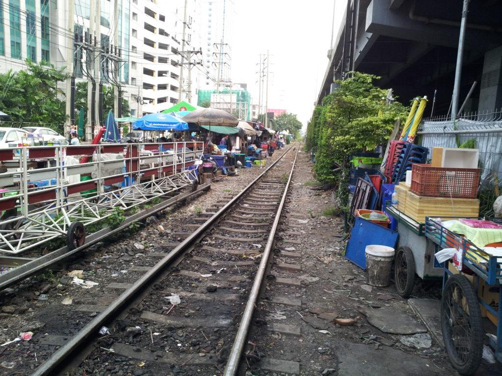 Railway tracks, Bangkok