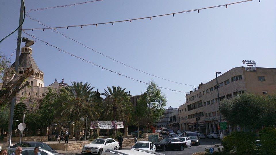 Nazareth town centre.